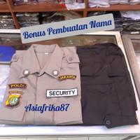 Stelan Pria Lengkap| Setelan Baju Seragam Security Satpam PDL Terbaru