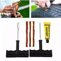 Tubeless Tire Repair Kit Alat Paket Tambal Ban Tubles Lengkap