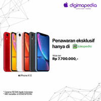 iPhone XR 64GB/128GB/256GB Grs RESMI Apple INDONESIA (Digimap/iBox)