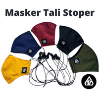 MASKER KAIN TALI STOPPER ARD 3ply