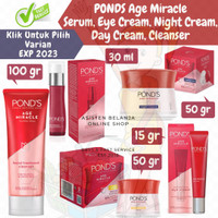 PONDS Age Miracle Youthful Glow Day Night Cream 50gr gr 50 g