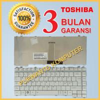 Keyboard Kibord Laptop Toshiba Satellite A200 A203 A205 A210 SILVER