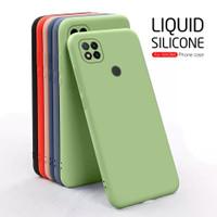 Case OPPO A53 A33 A15 Softcase LIQUID Silicon - Biru, OPPO A15