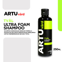 ARTU Vard TVAL Ultra Foam Shampoo Cuci Mobil Motor PH Balance