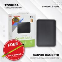 TOSHIBA CANVIO BASIC 1TB USB 3.0 HDD EXTERNAL
