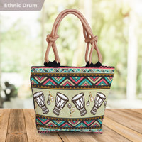 Tas Tote Bag Totebag Kanvas Canvas Wanita Printing Batik Ethnic
