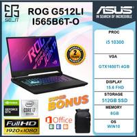 Asus ROG G512LI i5 10300 8GB 512ssd GTX1650Ti 4GB 15.6FHD 144Hz RGB - NON PAKET