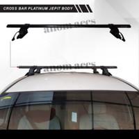 rack atas bagasi mobil merk platinum jepit body