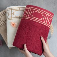 Howel and Co - Adeliza (Single Towel) - Sand, TanpaBordir