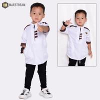 baju Koko anak laki laki terbaru premium original maestreem baju musli