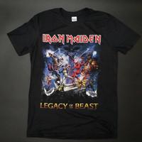 Kaos Iron Maiden Original - Legacy of the Beast - M