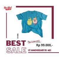 Korean Tshirt Chingu Banana Milk by YoWo Limited Editions
