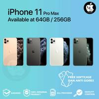 iPhone 11 Pro max 64gb / 256gb second fullset mulus like new