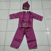 adat anak laki laki TK daerah Belitung / kostum daerah karnaval