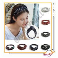 GALAXYMALL COD Bando Bandana Wanita Kain Motif Ala Korea Import AW02 1