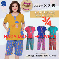 Baju Tidur /Baby doll FOREVER Sweet Concept ¾ Body Fit All Size S 349