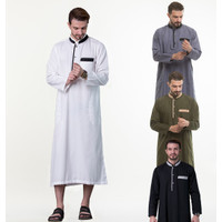New Arrival Baju Gamis Pria Pakistan Bahan Cotton Toyobo Adem, Nyaman