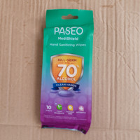 PASEO HAND SANITIZING WIPES with 70 persen Alkohol