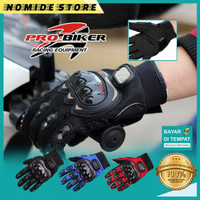 Sarung Tangan Batok Motor PROBIKER Glove Full Finger Touch Screen Pria