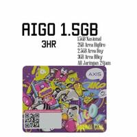Voucher Axis Aigo 1.5GB 3hr Nasional