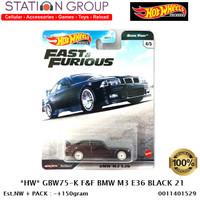 HOT WHEELS GBW75-K FAST & FURIOUS BMW M3 E36 BLACK - DIECAST
