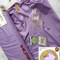 kain katun bahan toyobo fd warna lilac