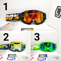 kacamata motor trail pria wanita MX goggle accuri