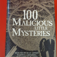 BUKU 100 MALICIOUS LITTLE MYSTERIES Selected by Isaac Asimov and Josep