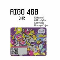 Voucher Axis Aigo 4GB 3hr Nasional
