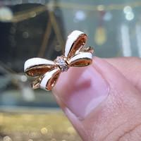cincin emas 700 pita putih simple dan manis