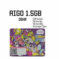 Voucher Axis Aigo Bronet 1.5GB 30hr