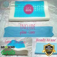 BEST SELLER Bantal Tidur Kesehatan Premium Memory Foam Cooling Gel