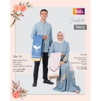 Baju [COUPLE] Muslim Nibras NS 80 / NSK 90