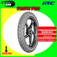 Ban Motor Matic RACING COMPOUND // IRC FASTI PRO 90/80 Ring 14 Tubeles