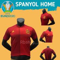 BAJU JERSEY JERSI BOLA DEWASA NEGARA SPANYOL EURO 2020 2021 GRADE ORI