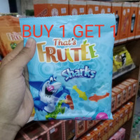 permen jelly gummy that's fruitee sharks 80 g fruit sweets candy snack