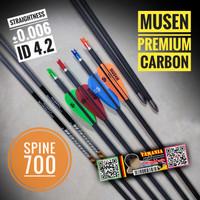 ARROW MUSEN PREMIUM CARBON Spine 700 ID 4.2 - Anak Panah Karbon