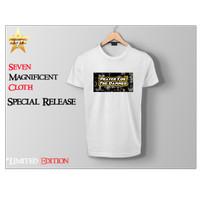 Kaos Tshirt RE-Morse Prayer For The Damned White Tees - Unisex - White, M