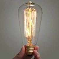 Lampu Pijar Vintage Model Bohlam Edison - 60W - 60 W