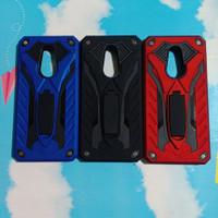 Hardcase Redmi 5 Plus phantom series stand iron case robot touch armor