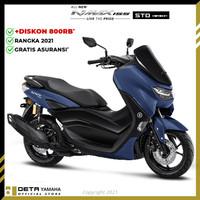DETA-Yamaha ALL NEW NMAX NON ABS 2021 (OTR BOGOR) Sepeda Motor - Biru