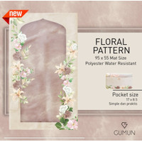Gumun Sajadah Travel Premium Series Floral - Big Size