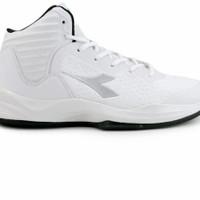 sepatu basket diadora hitam dan putih original