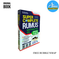 BUKU PELAJAR SMP - SUPER COMPLETE MATEMATIKA IPA SMP/MTS KELAS 7-8-9