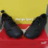 Sepatu Sepakbola Bola Puma Ultra 4.1 FG Original Hitam