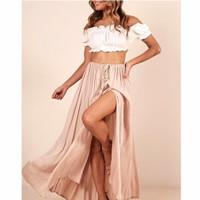 Baju Bali / Skirt / Rok Pantai Maxi Bohemian (Only Skirt)