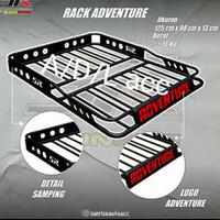 buz rack bagasi atas barang mobil roof rack adventure