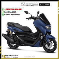 DETA-Yamaha ALL NEW NMAX NON ABS 2021 (OTR SERANG) Sepeda Motor - Biru