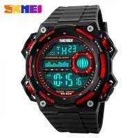 Jam Tangan Digital Pria Sporty SKMEI DG1115 Waterproof (ORI) - Hitam merah