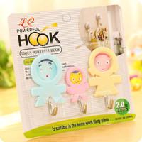 Gantungan Hook Family Gantungan Baju Serbaguna 1 set isi 3 pcs